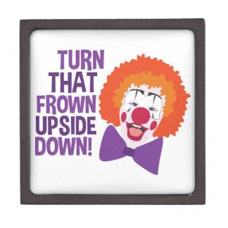 Frown Updide Down Keepsake Box