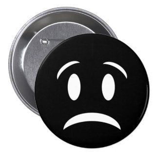 FROWNIE FACE PINBACK BUTTON