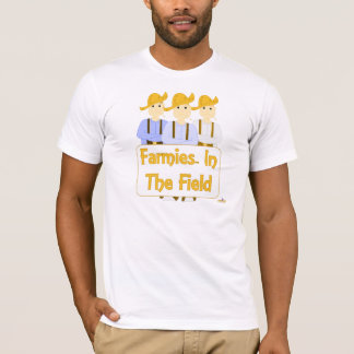 Frowning Farmies BBR Brown Pants Farmies In The Fi T-Shirt