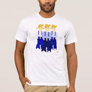Frowning Farmies BRB Blue Pants T-Shirt