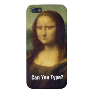 Frowning Mona Lisa iPhone SE/5/5s Case