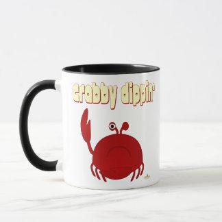 Frowning Red Crab   Dippin' Mug