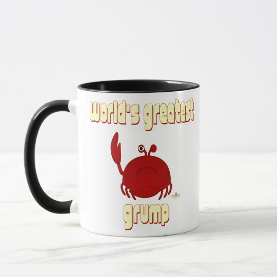 Frowning Red Crab World's Greatest Grump Mug