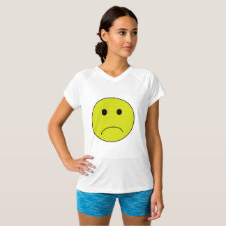 Frowning Smiley Face T-Shirt