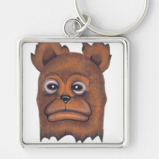 Frownybear Keychains