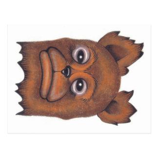 Frownybear Postcard