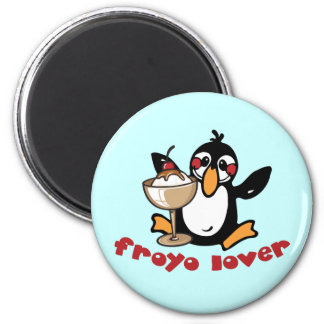 Froyo Lover 2 Inch Round Magnet