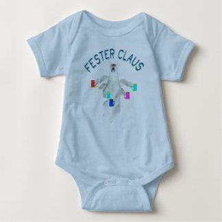 Froze Fester Claus Fully Customizable Claus Man Baby Bodysuit
