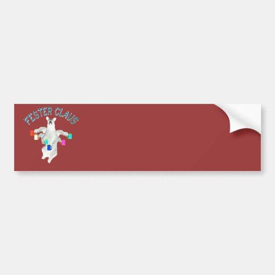 Froze Fester Claus Fully Customizable Claus Man Bumper Sticker