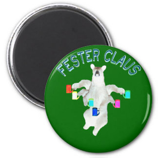 Froze Fester Claus Fully Customizable Claus Man Magnet