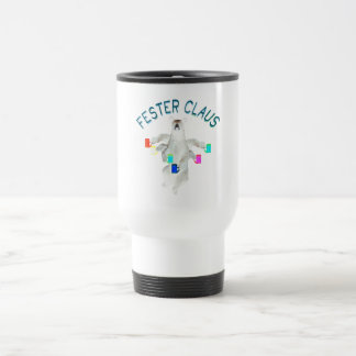 Froze Fester Claus Fully Customizable Claus Man Travel Mug