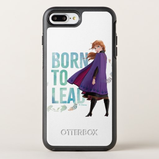 Frozen 2: Anna | Born To Lead OtterBox Symmetry iPhone 8 Plus/7 Plus Case