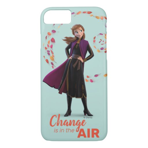 Frozen 2: Anna | Change Is In The Air iPhone 8/7 Case