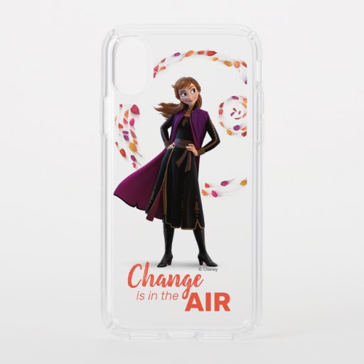 Frozen 2: Anna | Change Is In The Air Speck iPhone XS Case
