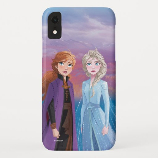 Frozen 2 | Anna & Elsa | A Journey Together iPhone XR Case