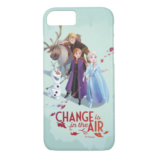 Frozen 2: Anna, Elsa & Friends | Change iPhone 8/7 Case