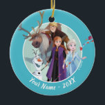 "Frozen 2: Anna, Elsa & Friends | Change Ceramic Ornament<br><div class=""desc"">Frozen 2 