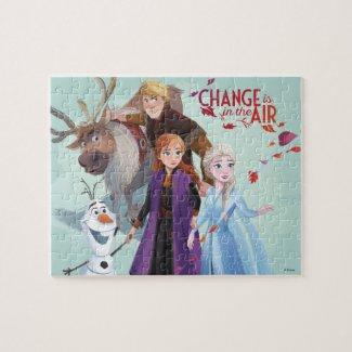 Frozen 2: Anna, Elsa & Friends | Change Jigsaw Puzzle