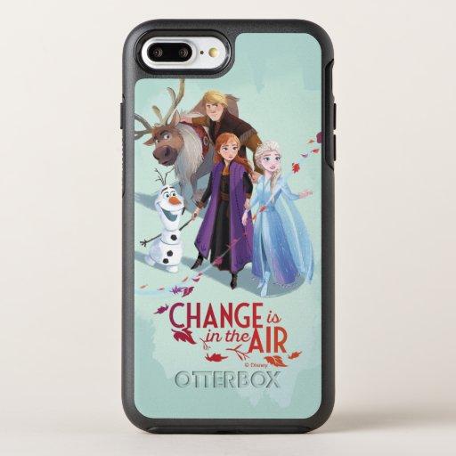 Frozen 2: Anna, Elsa & Friends | Change OtterBox Symmetry iPhone 8 Plus/7 Plus Case
