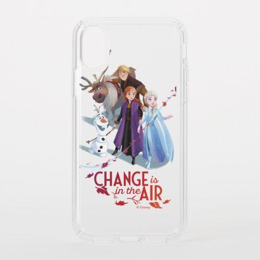 Frozen 2: Anna, Elsa & Friends | Change Speck iPhone XS Case