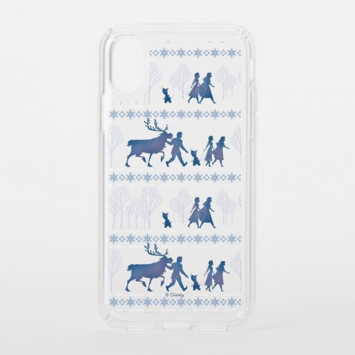 Frozen 2: Anna, Elsa, & Friends Winter Pattern Speck iPhone XS Case
