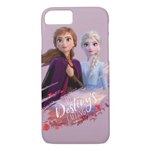 Frozen 2: Anna & Elsa | My Destiny's Calling iPhone 8/7 Case