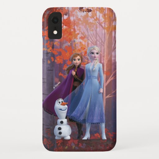 Frozen 2 | Anna, Elsa & Olaf iPhone XR Case
