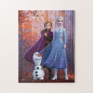 Frozen 2 | Anna, Elsa & Olaf Jigsaw Puzzle