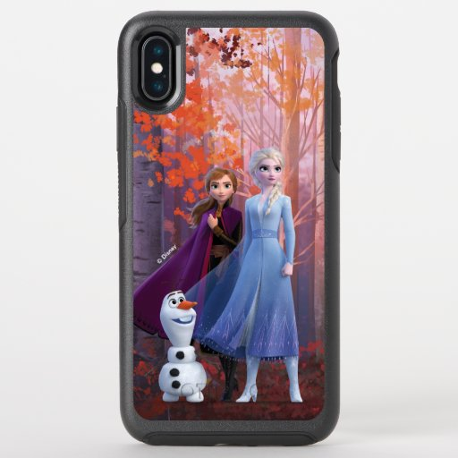 Frozen 2 | Anna, Elsa & Olaf OtterBox Symmetry iPhone XS Max Case