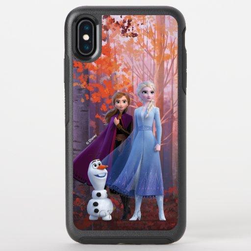 Frozen 2 | Anna, Elsa & Olaf OtterBox Symmetry iPhone XS Max Case