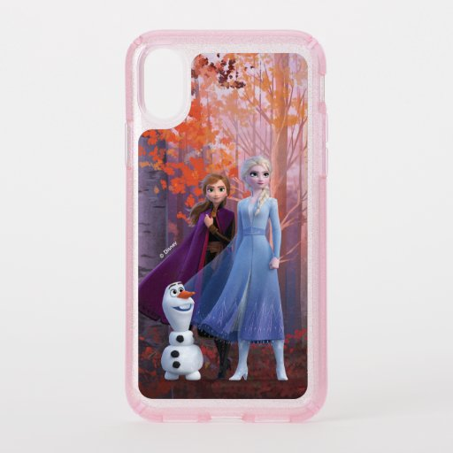Frozen 2 | Anna, Elsa & Olaf Speck iPhone XS Case