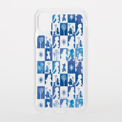 Frozen 2: Anna, Elsa, & Olaf Winter Tile Pattern Speck iPhone XS Case