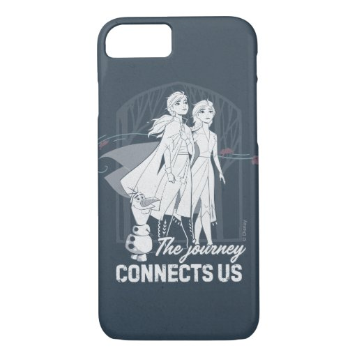 Frozen 2: Anna & Elsa | The Journey Connects Us iPhone 8/7 Case
