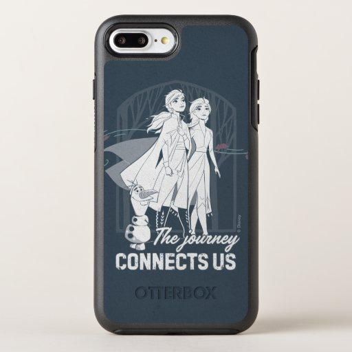 Frozen 2: Anna & Elsa | The Journey Connects Us OtterBox Symmetry iPhone 8 Plus/7 Plus Case