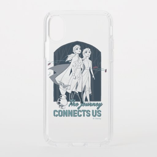 Frozen 2: Anna & Elsa | The Journey Connects Us Speck iPhone XS Case