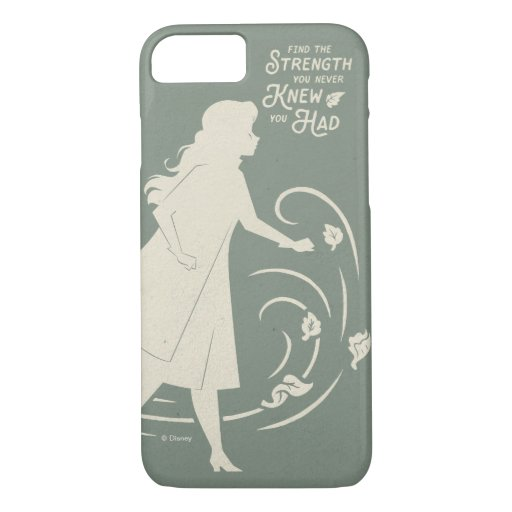 Frozen 2: Anna | Find The Strength iPhone 8/7 Case
