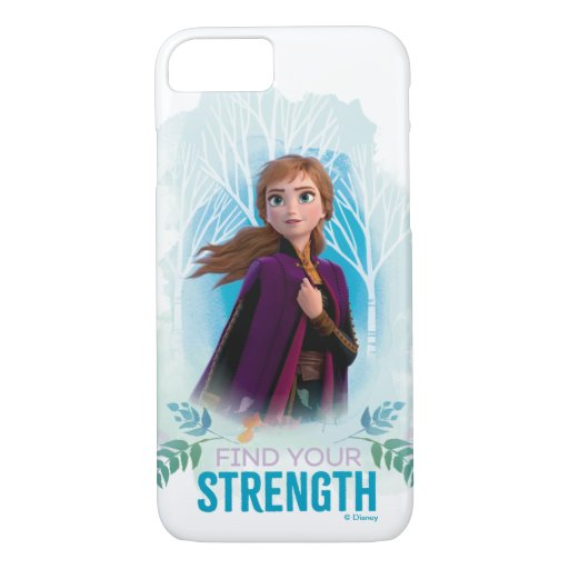 Frozen 2: Anna | Find Your Strength iPhone 8/7 Case