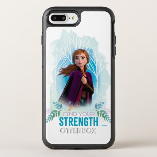 Frozen 2: Anna | Find Your Strength OtterBox Symmetry iPhone 8 Plus/7 Plus Case