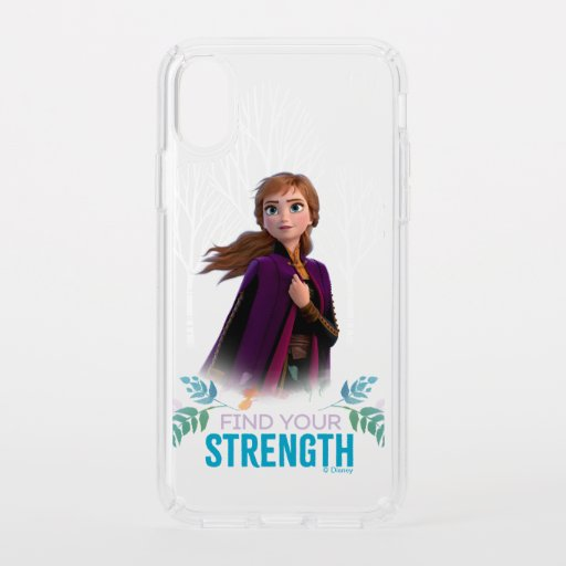 Frozen 2: Anna | Find Your Strength Speck iPhone XS Case