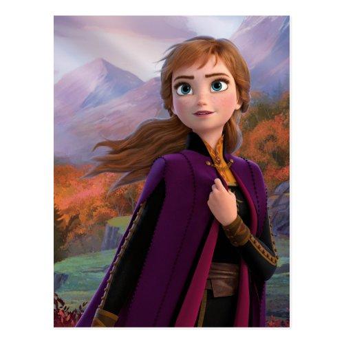 Frozen 2  Anna _ Gentle Wind Spirit Postcard
