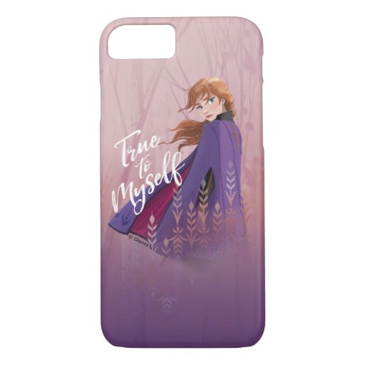 Frozen 2: Anna | True to Myself iPhone 8/7 Case
