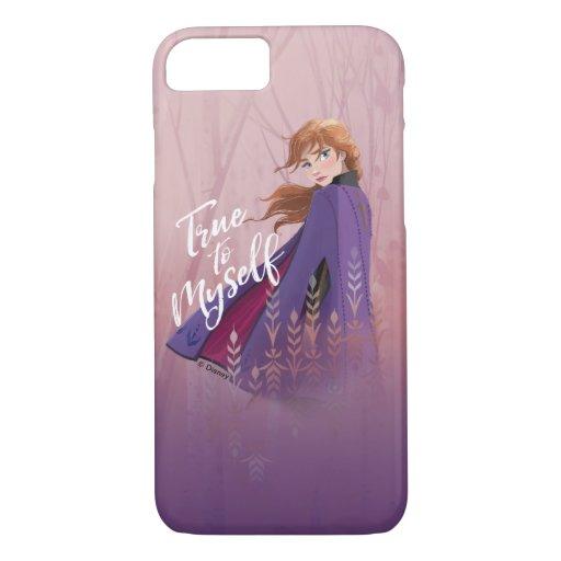 Frozen 2: Anna | True to Myself iPhone 8/7 Case