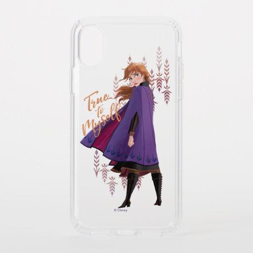 Frozen 2: Anna | True to Myself Speck iPhone XS Case