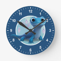 Frozen 2 | Bruni the Fire Spirit Round Clock
