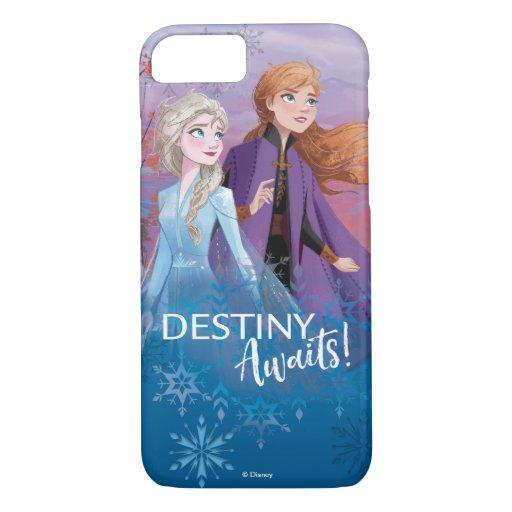 Frozen 2: Elsa & Anna | Destiny Awaits! iPhone 8/7 Case
