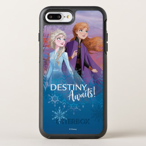 Frozen 2: Elsa & Anna | Destiny Awaits! OtterBox Symmetry iPhone 8 Plus/7 Plus Case