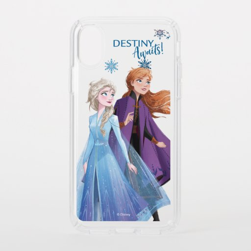 Frozen 2: Elsa & Anna | Destiny Awaits! Speck iPhone XS Case