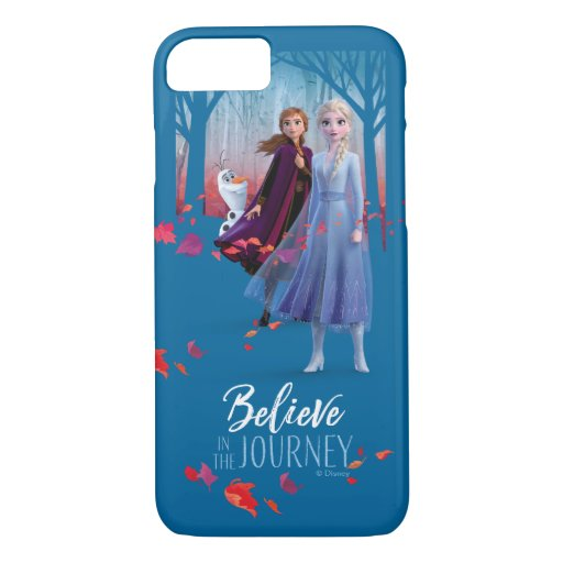 Frozen 2: Elsa, Anna, & Olaf | Believe iPhone 8/7 Case