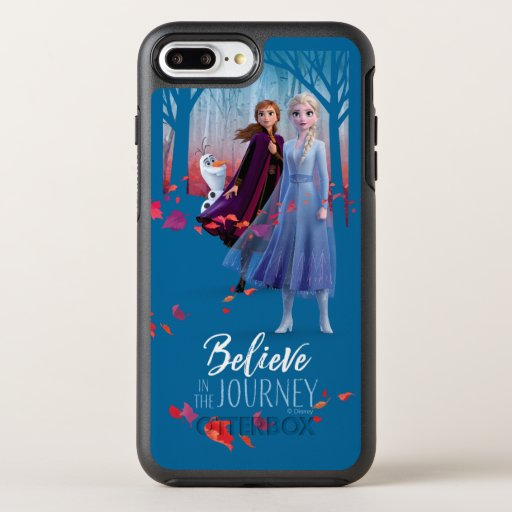 Frozen 2: Elsa, Anna, & Olaf | Believe OtterBox Symmetry iPhone 8 Plus/7 Plus Case