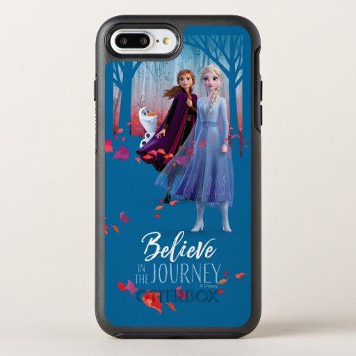 Frozen 2: Elsa, Anna, & Olaf | Believe OtterBox Symmetry iPhone 8 Plus/7 Plus Case
